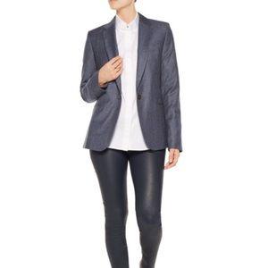 EQUIPMENT Jay Wool Tweed One Button Blazer